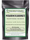 Potassium Bicarbonate - Natural USP Food Grade Crystalline Powder - 99.63% Alkalinity 1 lb