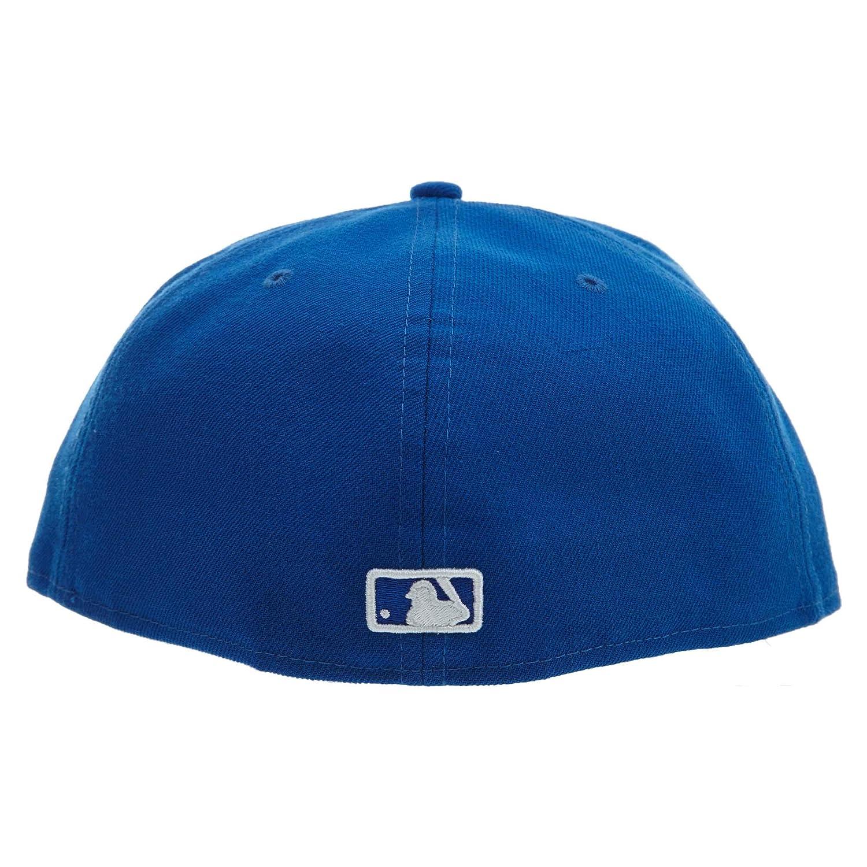 2969d1c984b Amazon.com  New Era 59Fifty Hat New York Yankees MLB Basic Blue Fitted Cap  11591129  Shoes