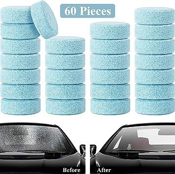 60 Piezas Limpiadoras Efervescente de Automóvil Tabletas ...