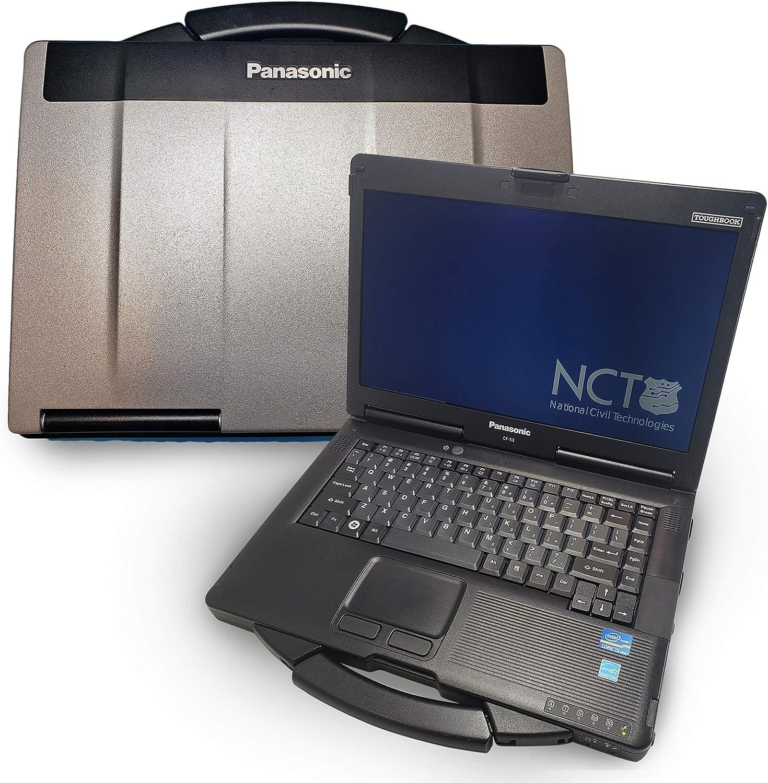 Panasonic Toughbook CF-53 [Mk 4] Intel i5 2.0Ghz, 16GB Ram, 500GB SSD, Windows 10 Pro, WiFi, Bluetooth, DVD-RW, MIL-STD-810G Certified Rugged Laptop PC