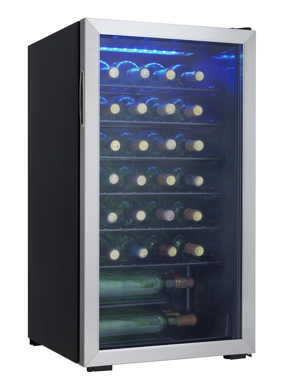 Danby DWC032A2BDB 36 Bottle Wine Cooler Black