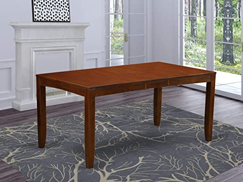 East West Furniture LYT-ESP-T Lynfield Butterfly Leaf Dining Table