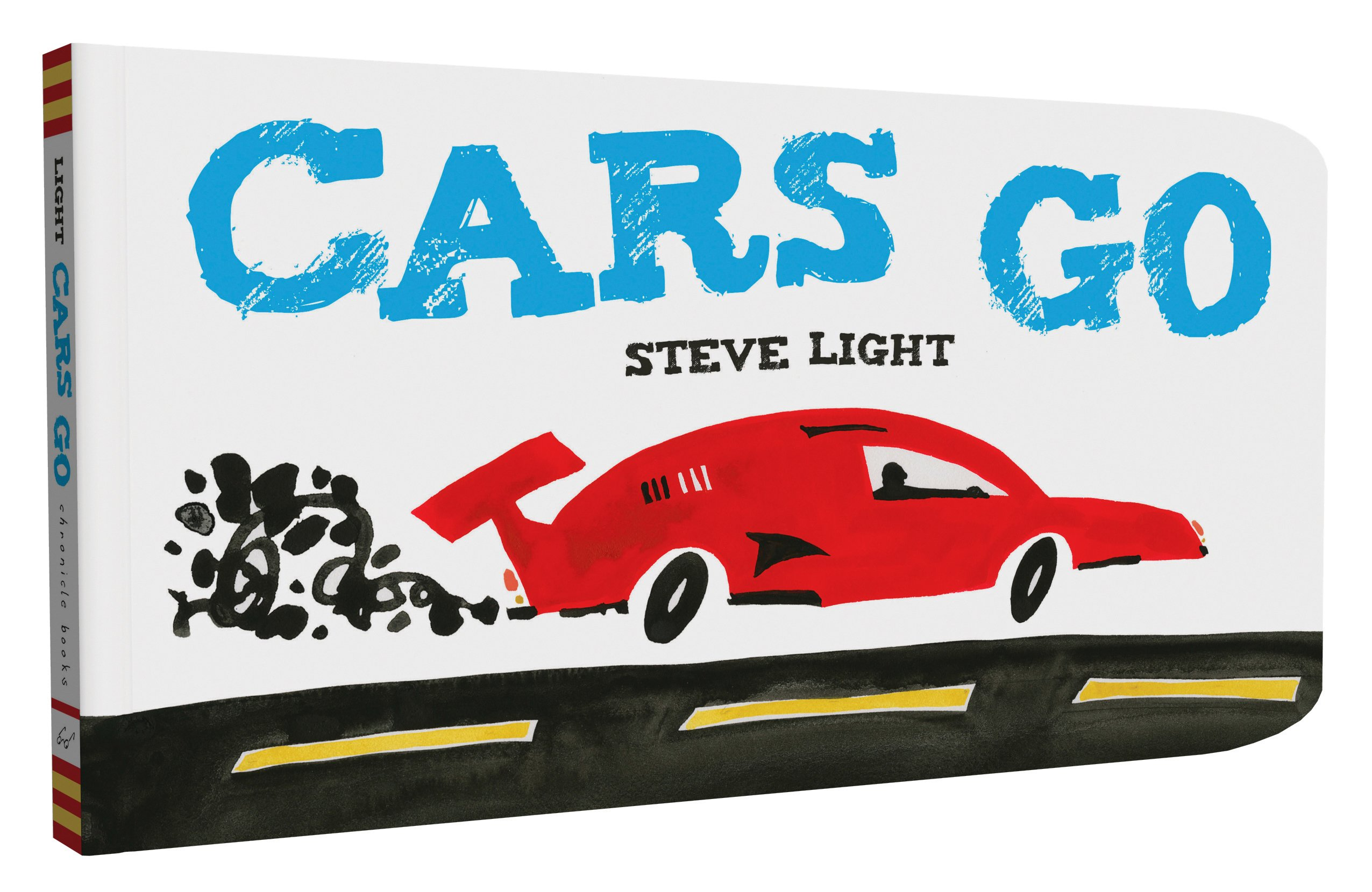 cars go steve light books