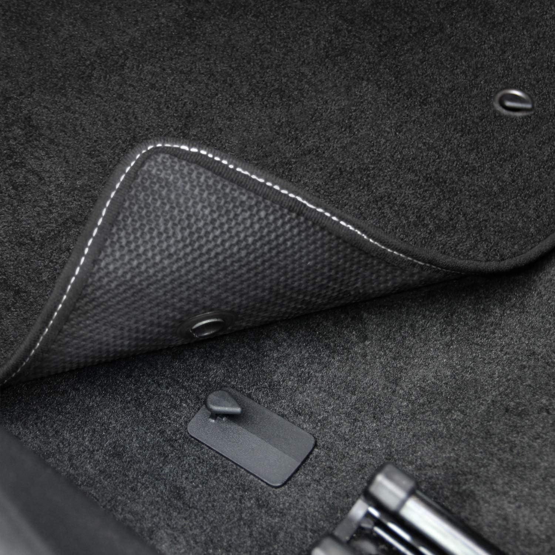 Lloyd Mats LogoMat Custom Floor Mats for Pontiac GTO 2005-2006 4Pc Front /& Back Set Black Carpet Mat