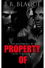 The Masters M.C.: Property Of Kindle Edition
