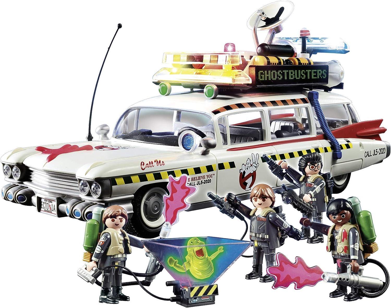 PLAYMOBIL Ghostbusters Ecto-1A con Módulo de Luz y Sonido, a Partir de 6 Años (70170): Amazon.es: Juguetes y juegos