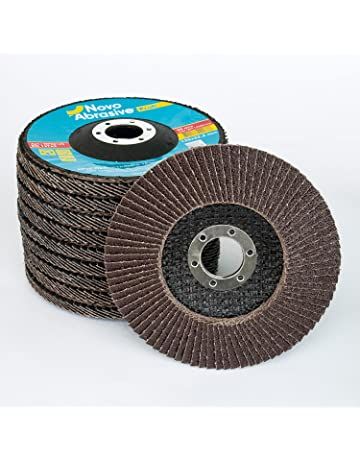 Tools 115mm Auto Body Sanding Flap Discs Wheels 80 Grit For Stainless Steel 10pcs