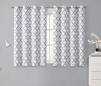 HLC.ME 52 W X 63 L Blackout Curtains