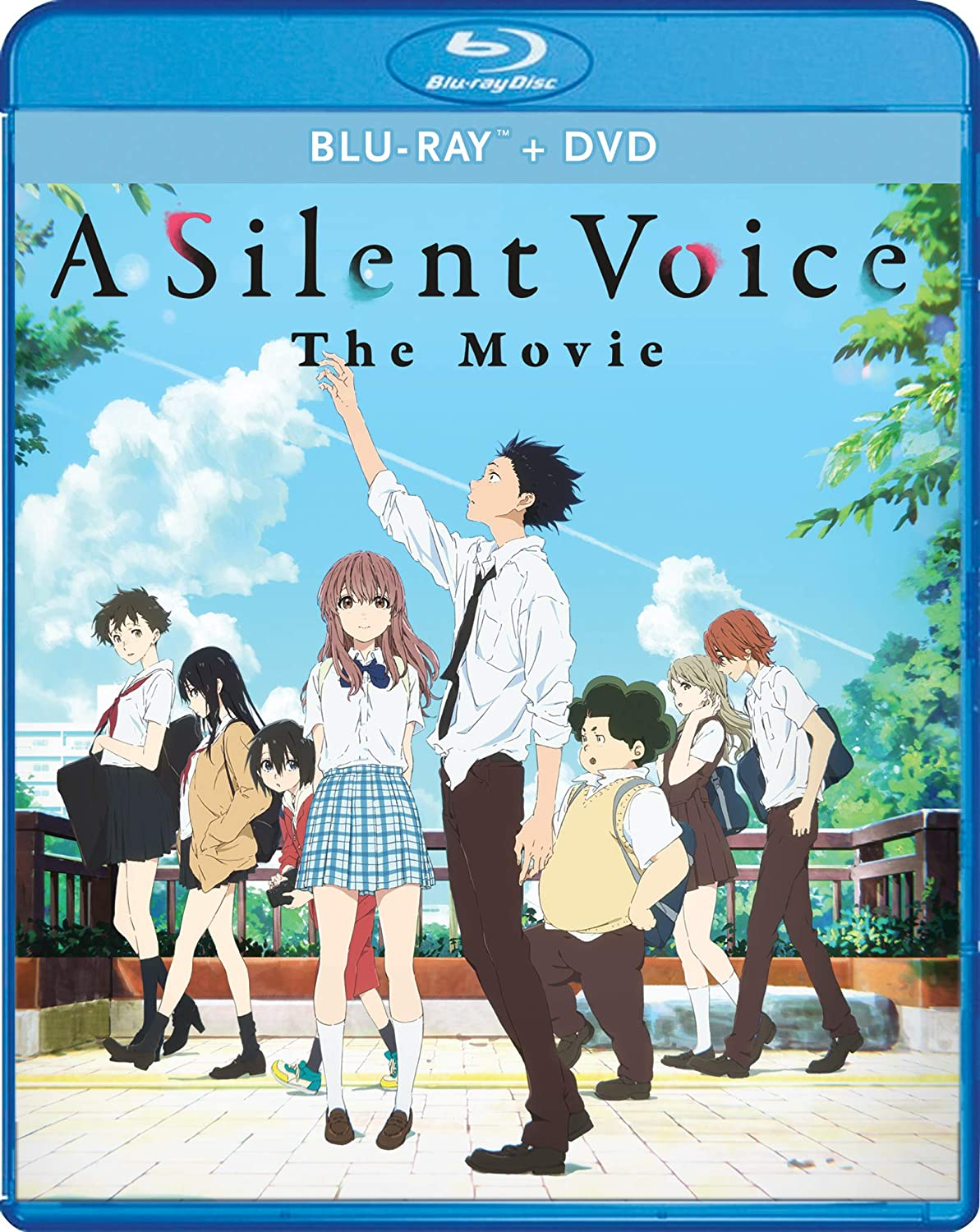 A Silent Voice Blu-ray/DVD (Dual Audio)