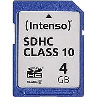 Intenso SDHC 4GB Class 10 Speicherkarte schwarz