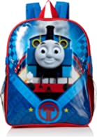 Thomas the Train Boys' Icon 15 Inch Backpack with Lunch Kit