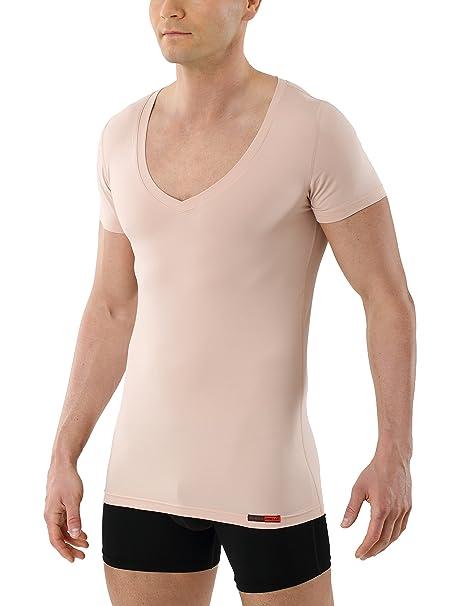 Y De Coolmax® Con Seca Técnico Kreuz – Para Camiseta Hombre Tejido Manga Algodón AntisudorPiel Invisible Corta Cuello Interior Albert WIe29HDYbE