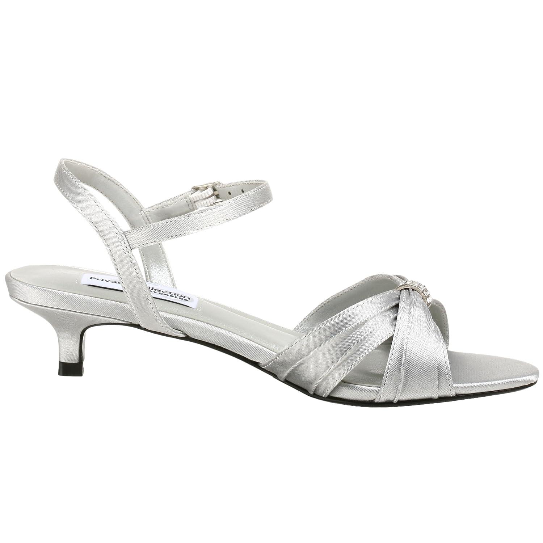 Dyeables Women's Fiesta Sandal B0016089CY 8 2A Silver/Metallic