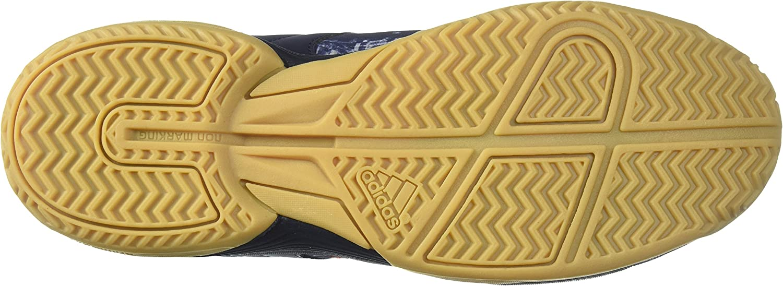 adidas Men's Ligra 5 Volleyball Shoe, Legend Ink/Hi-Res Red /Orange Two, 7 M US