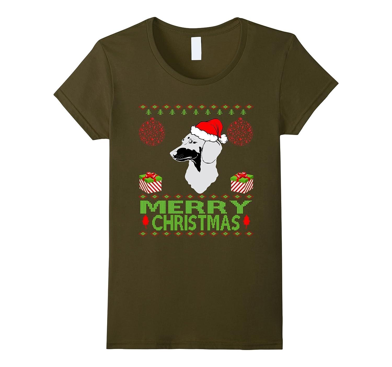 Dachshund Dog Merry christmas jumper style funny pet shirt