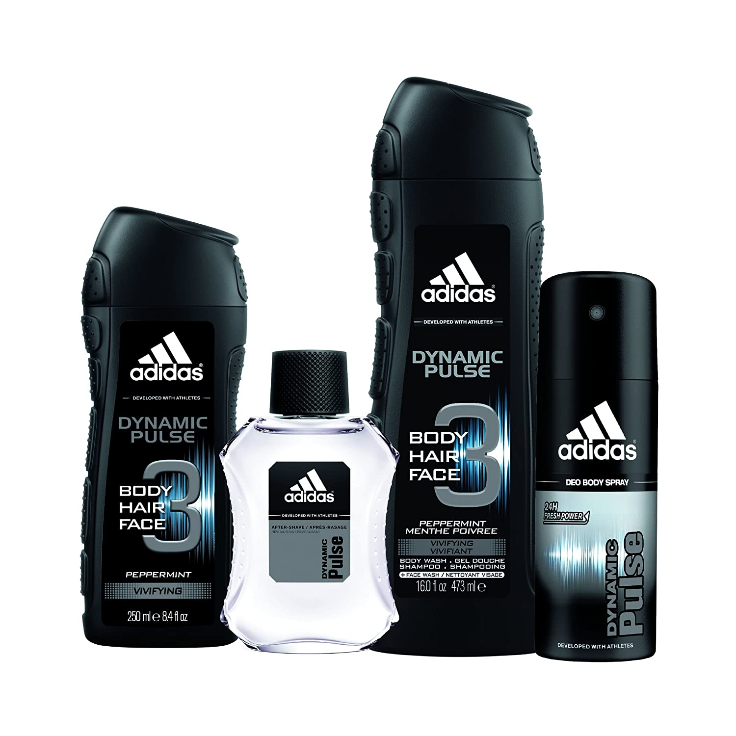 Adidas Fragrance Dynamic Pulse 4 Piece Gift Set