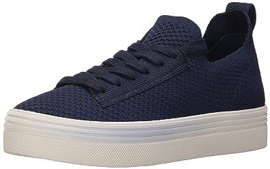 c23ff4dd257c Dolce Vita Women s Tatum Sneaker Navy Fabric 6 Medium US