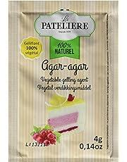 LA PATELIERE Agar-agar Gélifiant Végétal 5 Sachets 20 g - Lot de 7