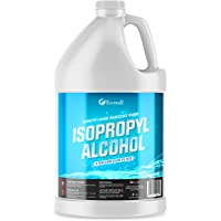 Ecoxall Chemicals - Fastest Delivery - 99.9% Pure Isopropyl Alcohol (IPA) - Made in The USA - 1 Gallon Bottle - 128 Fluid Ounces - Concentrated Rubbing Alcohol