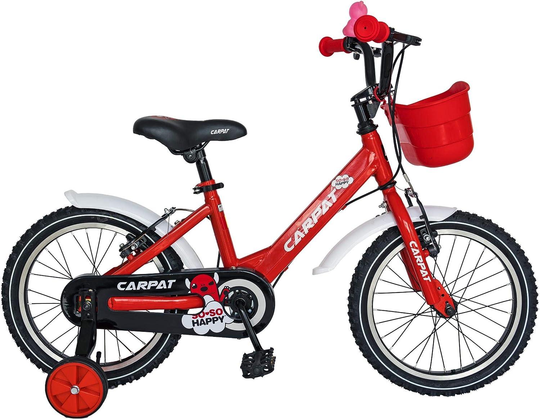 JISU Bicicleta de niños/Kids, 5-7 años, C1801C/C1802C, 18 Pulgadas ...