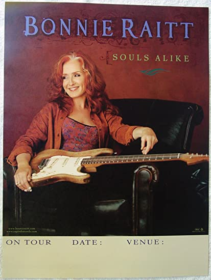 Amazon Com Bonnie Raitt Souls Alike Poster On Tour New