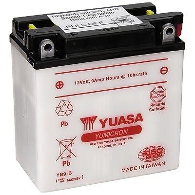 Yuasa YUAM229BY YB9-B Battery: Automotive