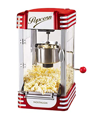 5a5d2d68488fba Image Unavailable. Image not available for. Color  Nostalgia RKP630 Retro  2.5-Ounce Kettle Popcorn Maker