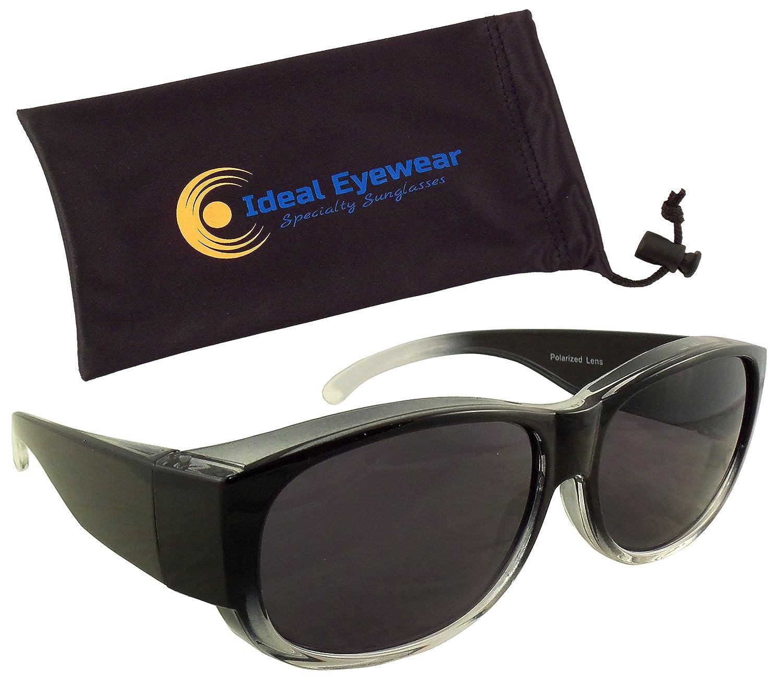 79dfae5674 Plastic frame. Plastic lens. Polarized Lens width  See sizing info in  description below. Please measure your eyeglasses to ensure proper fit.
