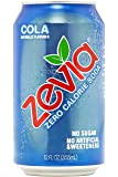 Zevia All Natural Soda, Cola 12-Ounce Cans (Pack of 24)