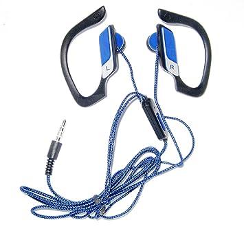 Cascos Auriculares Deportivos, Correr, Running, etc. Clip Oreja con Micrófono SK-