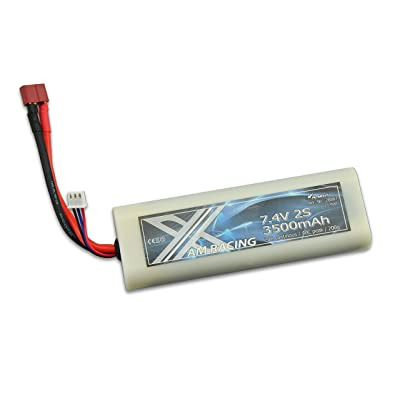 Amewi 28887–7, 4V 3500mAh Coque Batterie Lipo Dean Fiche