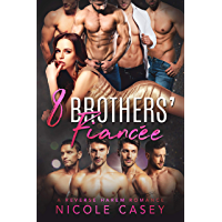 Eight Brothers' Fiancée: A Reverse Harem Romance (Love by Numbers Book 7) (English Edition)
