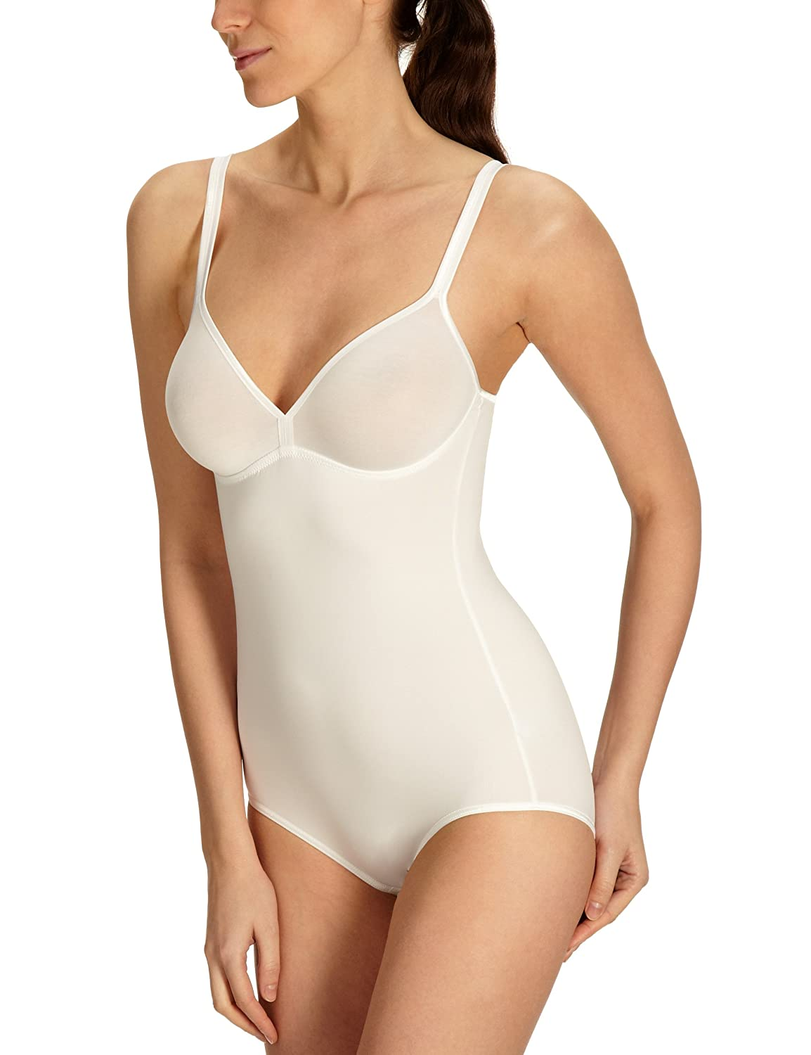 2318823703 Triumph Women s Be Pure Body (Without Clip BS - White - 34C  Amazon.co.uk   Clothing