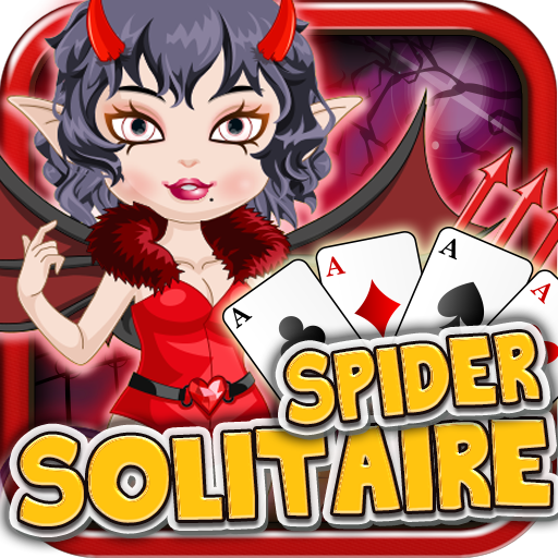 Spider Solitaire Crush Halloween (Big Time Rush Halloween Games)