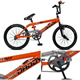 "Boys 20"" Rooster BIG DADDY freestyler BMX Bike in Orange."