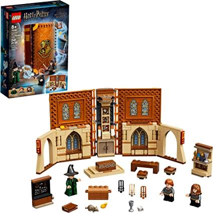 Lego Harry Potter Hogwarts Moment Transfiguration Class 76382 Professor Mcgonagall Room Collectible Playset New 2021 240 Pieces Toys Games
