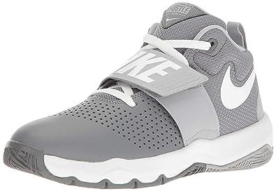 new concept 9ed0c 15ec9 Nike Jungen Team Hustle D 8 (gs) Basketballschuhe, Mehrfarbig (Cool Wolf  Grey