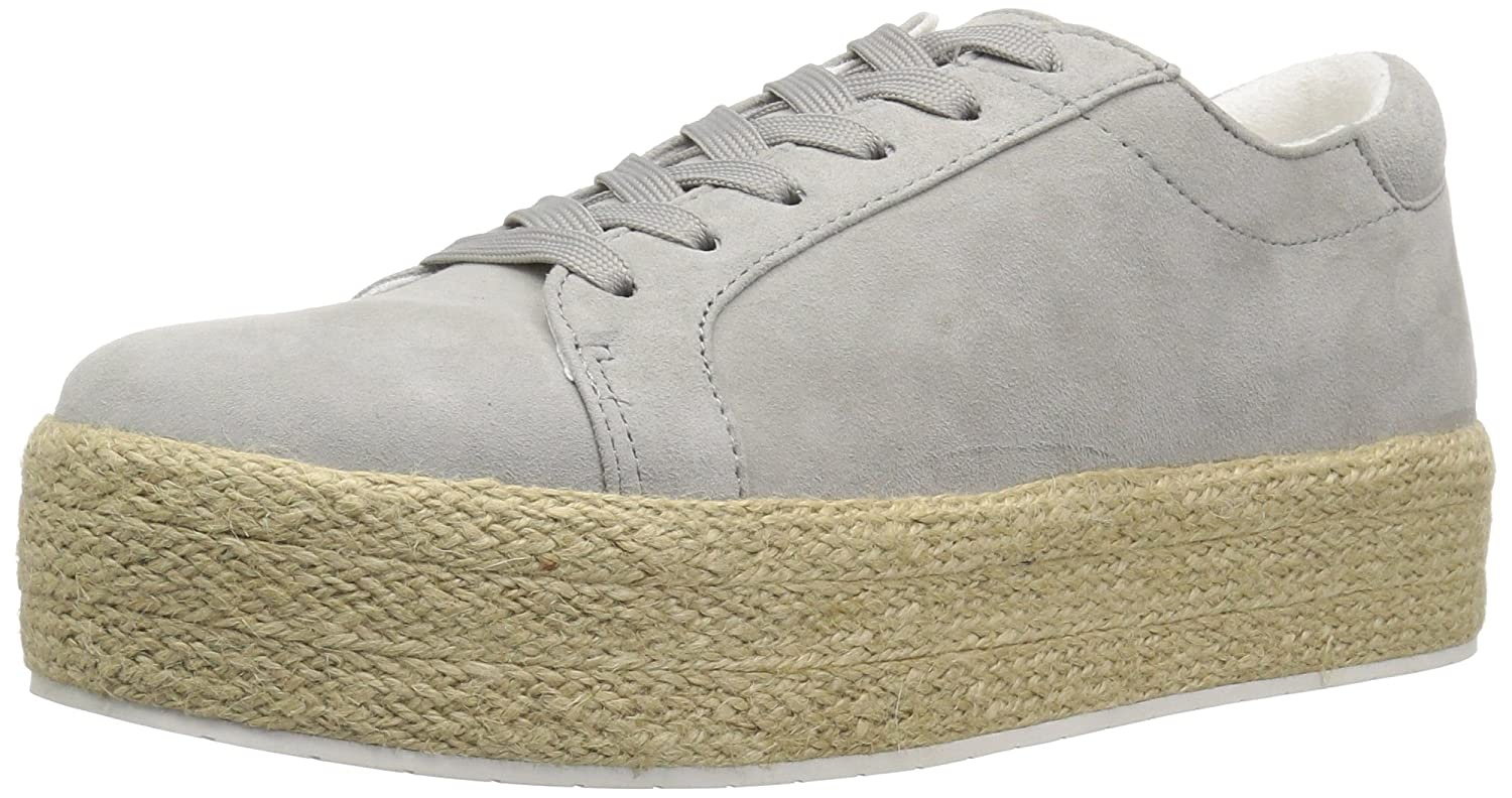 Kenneth Cole New York Women's Allyson Platform Lace up Jute Wrap-Techni-Cole Sneaker B0754M8B7X 6.5 B(M) US|Dust Grey