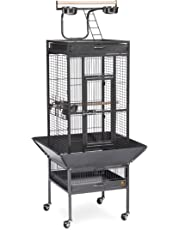 Prevue Pet Products Wrought Iron Select Bird Cage, Black Hammertone
