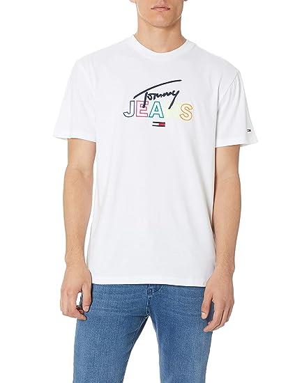 Tommy Jeans Herren TJM Tommy Script Tee T Shirt
