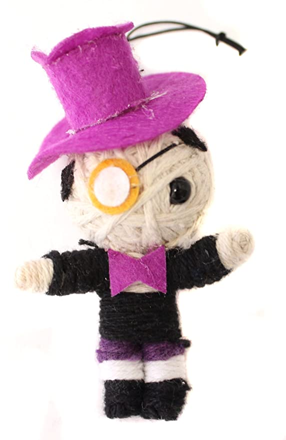 Amazon.com: DC Comics El Pingüino 2.5 inch Cadena Voodoo ...