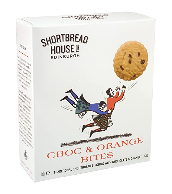 Galletas Con Chocolate Y Naranja Shortbread House 150 G.
