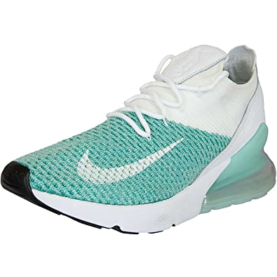 6b122f56e722b5 Nike Shoes - W Air Max 270 Flyknit Green White Green  Amazon.co.uk ...