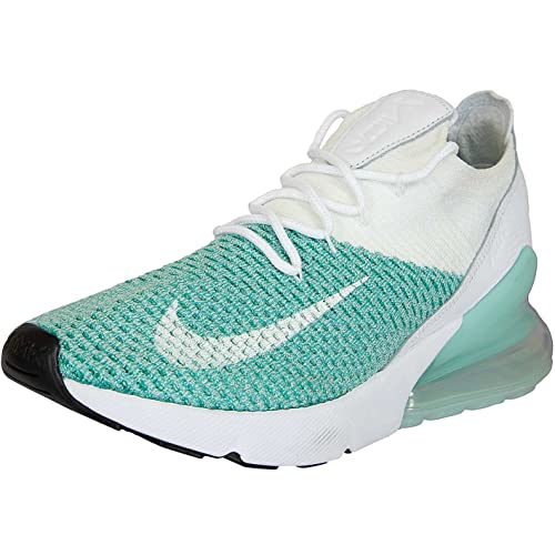 2b3a046ac1 Nike Shoes - W Air Max 270 Flyknit Green/White/Green: Amazon.co.uk ...
