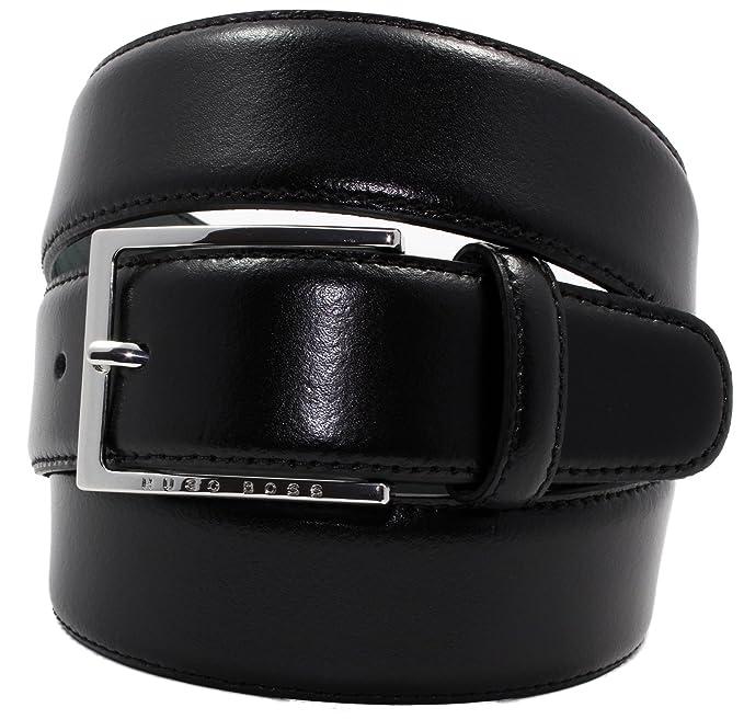 a27f90e5f HUGO BOSS Leather Belt Mens Handmade in Italy (38