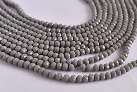 Sky Blue Opaque 50 beads jewellery making 8mm Glass faux Pearls