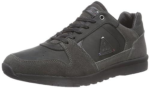 Le COQ SportifGASPAR Leather LOW-153 - Zapatillas Hombre, Color Negro, Talla 41