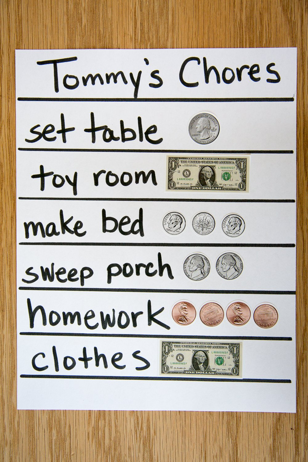 1038 Pieces U.S. Coin & Currency Stickers | For Classroom & Home Use | Extra Strong Adhesive | Realistic Size | 14 Total Sheets | By PureBloom Products by PureBloom Products (Image #3)