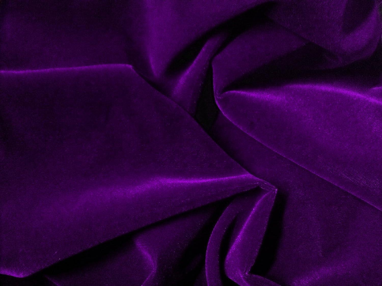 amazon com 1 x purple velvet fabric 45