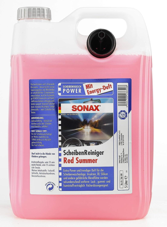 SONAX 266500 Limpiador de Parabrisas, Listo para Usar, Red Summer: Amazon.es: Coche y moto
